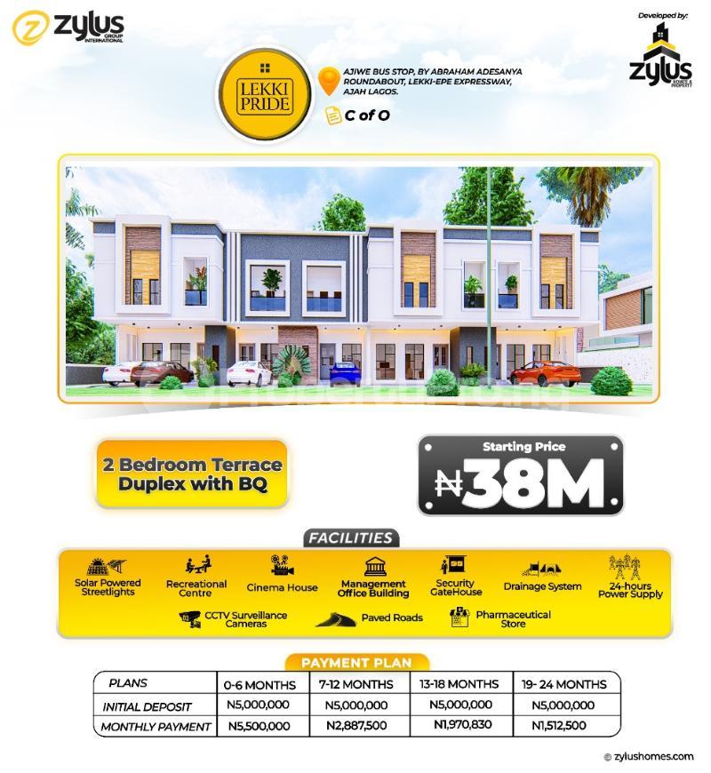 1 bedroom Flat / Apartment for sale Abraham adesanya estate Ajah Lagos - 3