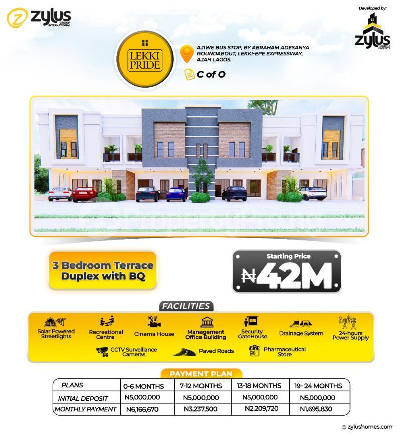 1 bedroom Flat / Apartment for sale Abraham adesanya estate Ajah Lagos - 4