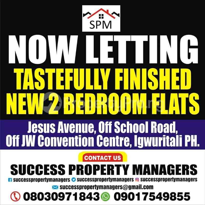 3 bedroom Mini flat for rent Igwuritali,portharcourt,rivers State Port Harcourt Rivers - 0