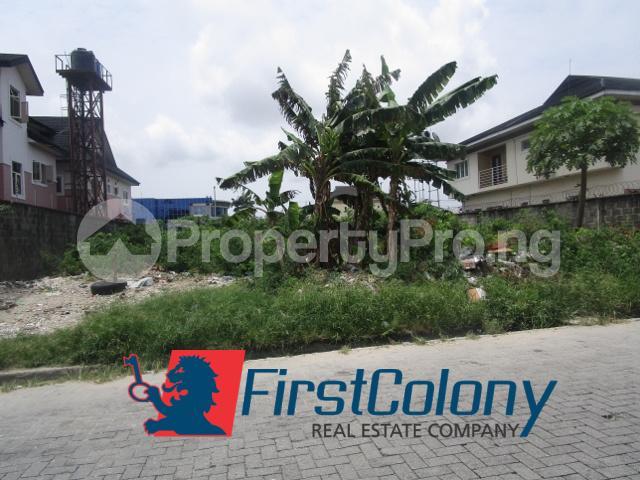 Residential Land Land for sale Block 124 Plot 18, along Adewale Kolawole Crescent, off T.F. Kuboye Street, Right-Hand Approach Lekki Phase 1 Lekki Lagos - 1