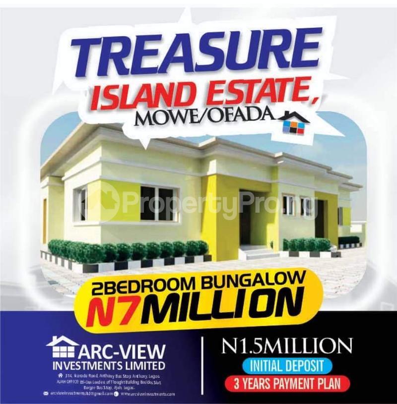 3 bedroom Detached Bungalow for sale Orilemo Mowe Ofada Ofada Obafemi Owode Ogun - 3