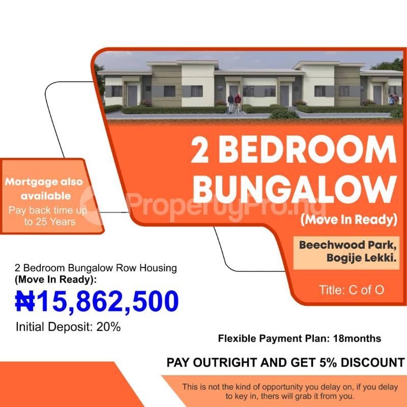 2 bedroom Detached Bungalow for sale Beechwood Park Lakowe Ajah Lagos - 0