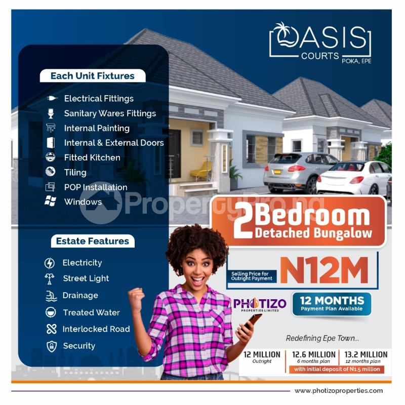 Detached Bungalow House for sale Epe Lagos - 1
