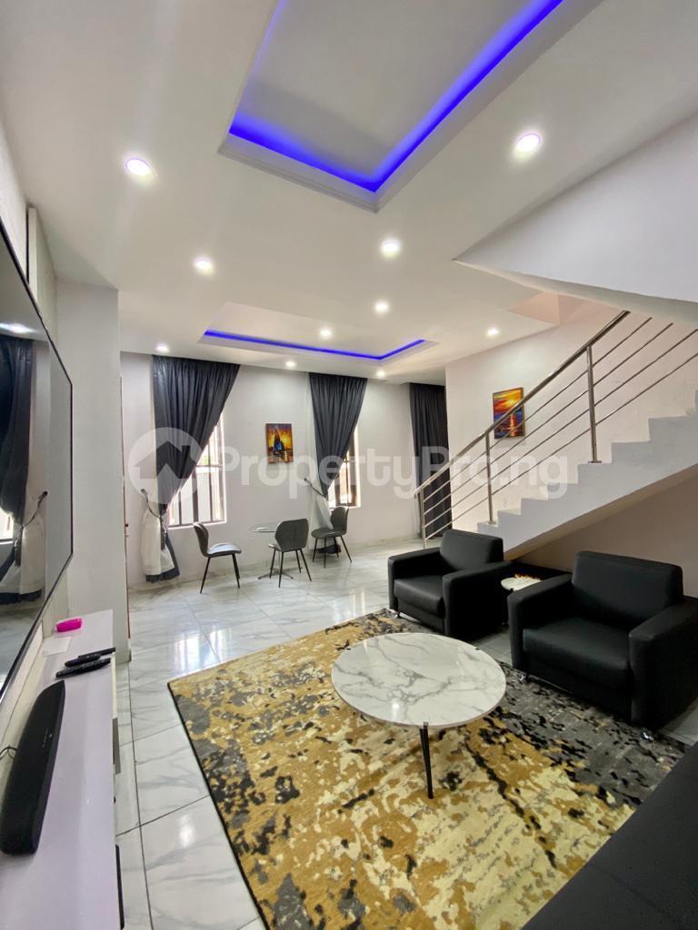 2 bedroom Semi Detached Duplex for shortlet Conservation chevron Lekki Lagos - 0