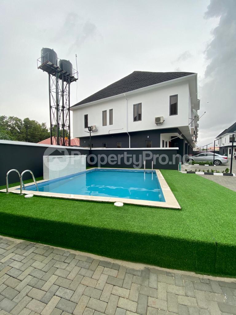 2 bedroom Semi Detached Duplex for shortlet Conservation chevron Lekki Lagos - 2