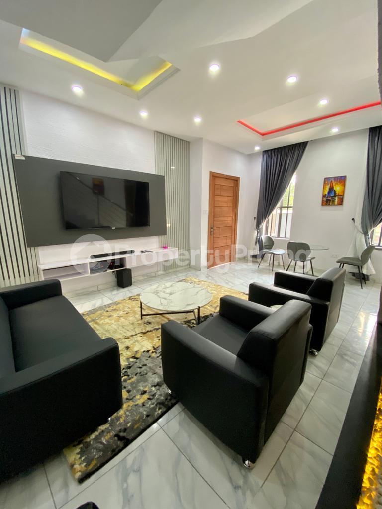 2 bedroom Semi Detached Duplex for shortlet Conservation chevron Lekki Lagos - 1