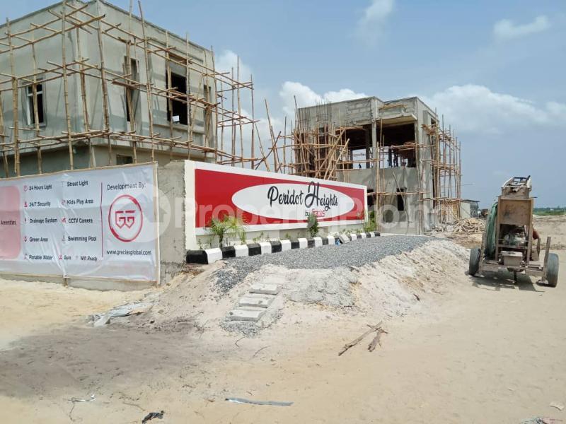 3 bedroom Self Contain Flat / Apartment for sale Adjacent Novare Mall(Shoprite) Sangotedo Lagos - 0