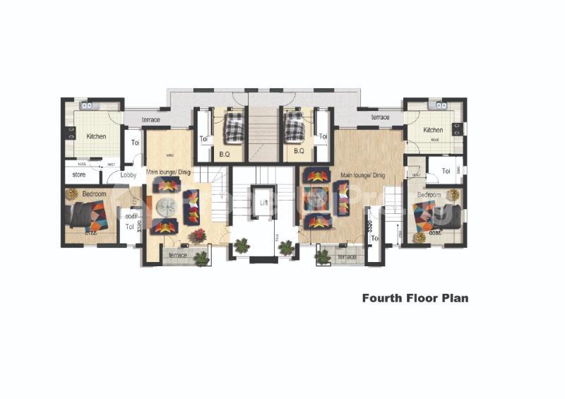 2 bedroom Flat / Apartment for sale Sangotedo Lagos - 2