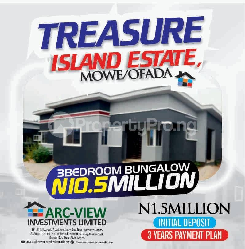 3 bedroom Detached Bungalow for sale Orilemo Mowe Ofada Ofada Obafemi Owode Ogun - 5