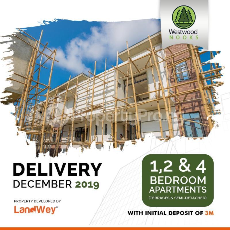 2 bedroom Terraced Duplex House for sale Westwood Nooks Sangotedo Lagos - 3