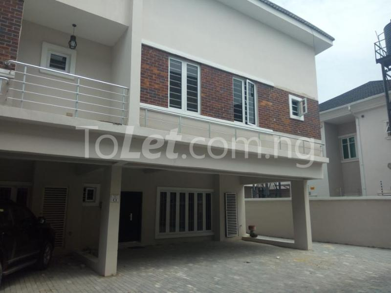 2 bedroom House for sale mini estate along Orchid Hotel Road chevron Lekki Lagos - 0