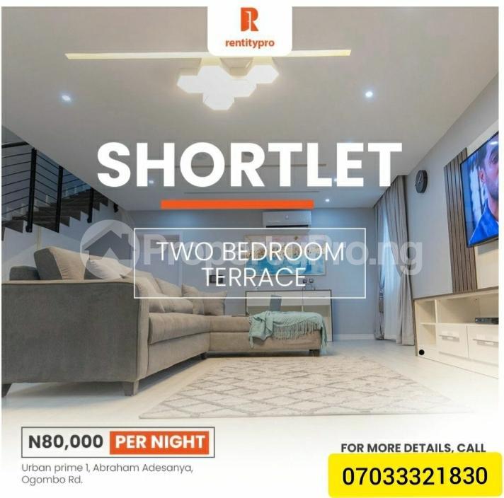 2 bedroom Terraced Duplex for shortlet Ogombo Road, Abraham Adesanya Abraham adesanya estate Ajah Lagos - 0