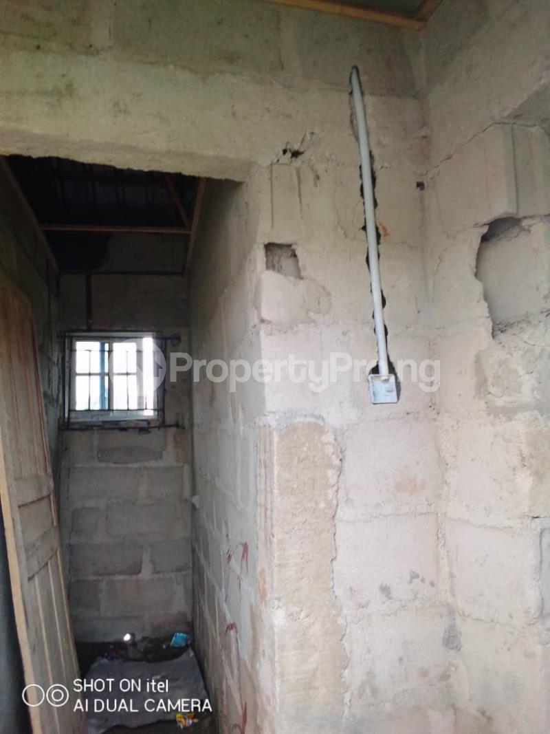 1 bedroom mini flat  Terraced Bungalow House for sale Agunfoye Igbogbo Ikorodu Lagos - 1