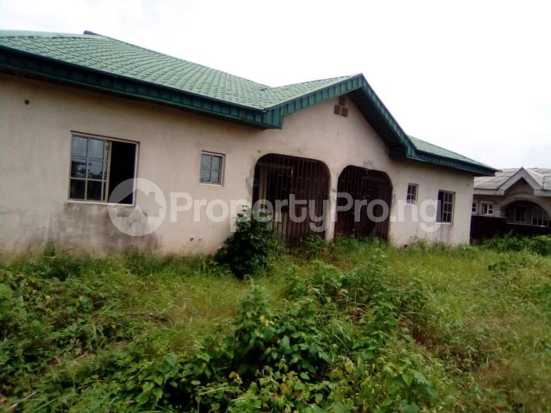 4 bedroom Detached Bungalow House for sale Honest Alfa Street Igbogbo Ikorodu Lagos - 1