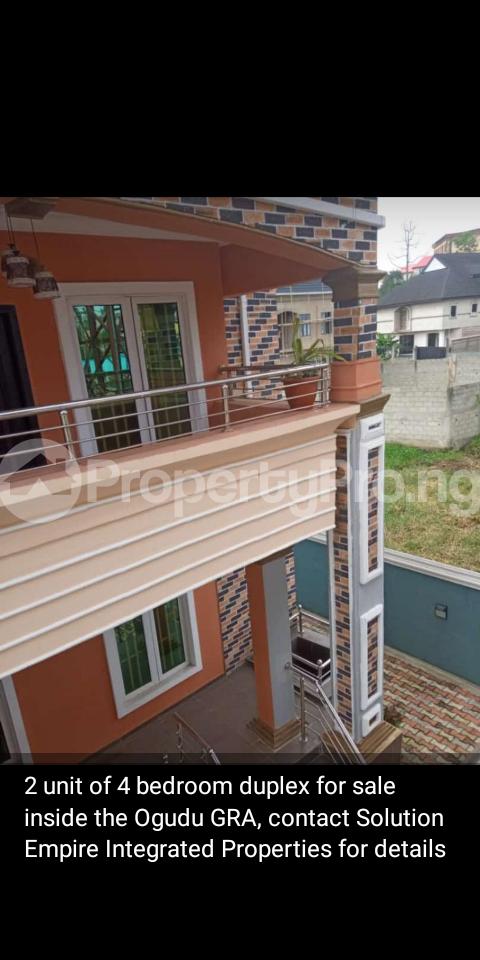 4 bedroom Semi Detached Duplex House for sale Ogudu GRA, Ogudu Lagos - 1