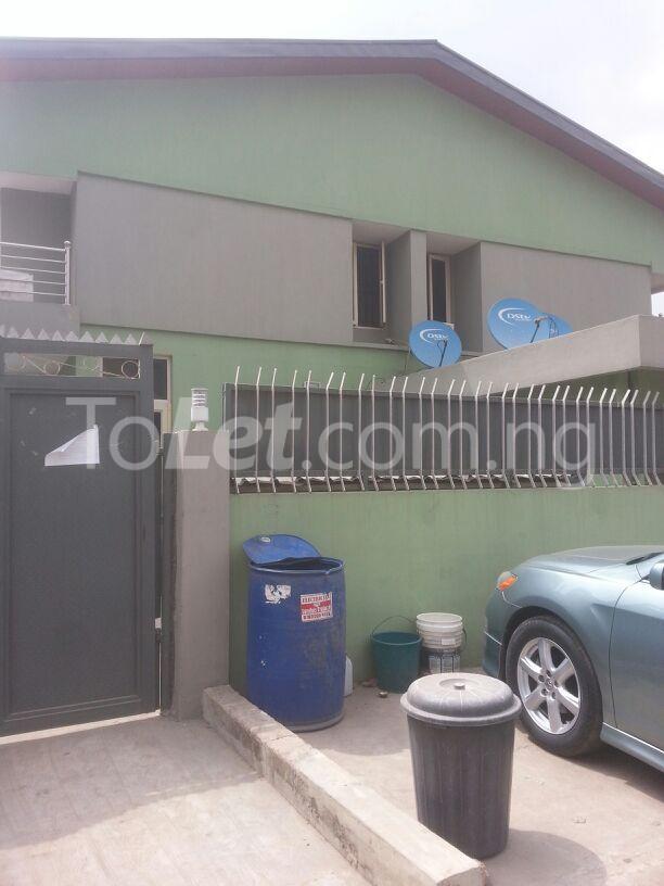 3 bedroom Flat / Apartment for rent Dideolu Estate. Ikeja Ikeja Lagos - 1