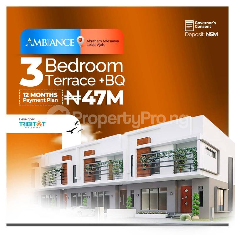 4 bedroom Detached Duplex House for sale Abraham adesanya estate Ajah Lagos - 1