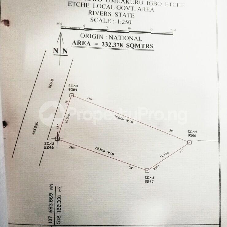 Residential Land Land for sale Igbo Etche close to shell Etche Rivers - 3