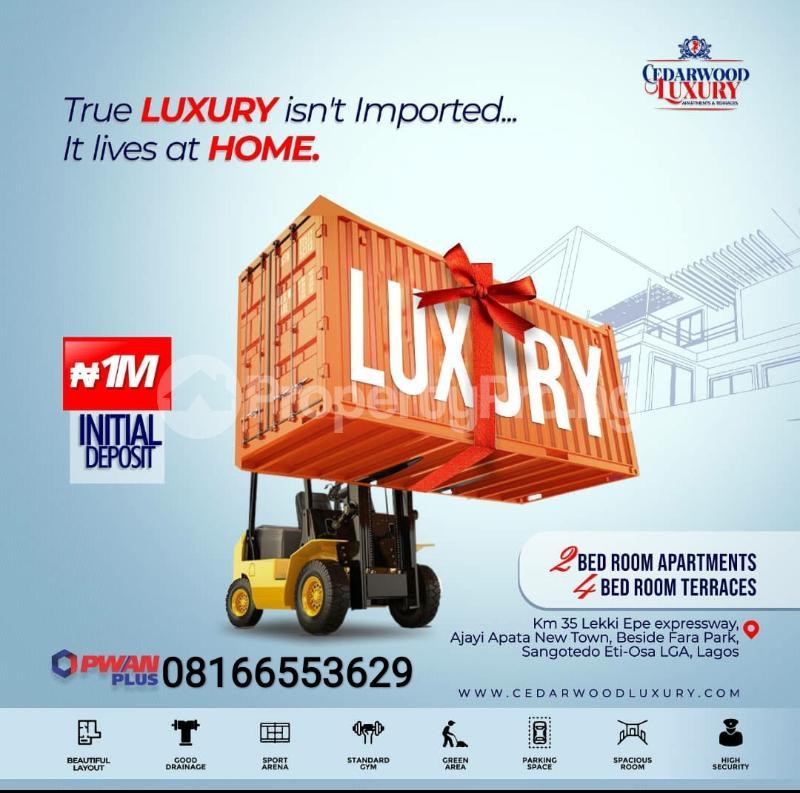 Terraced Duplex House for sale Lekki Phase 2 Lekki Lagos - 0