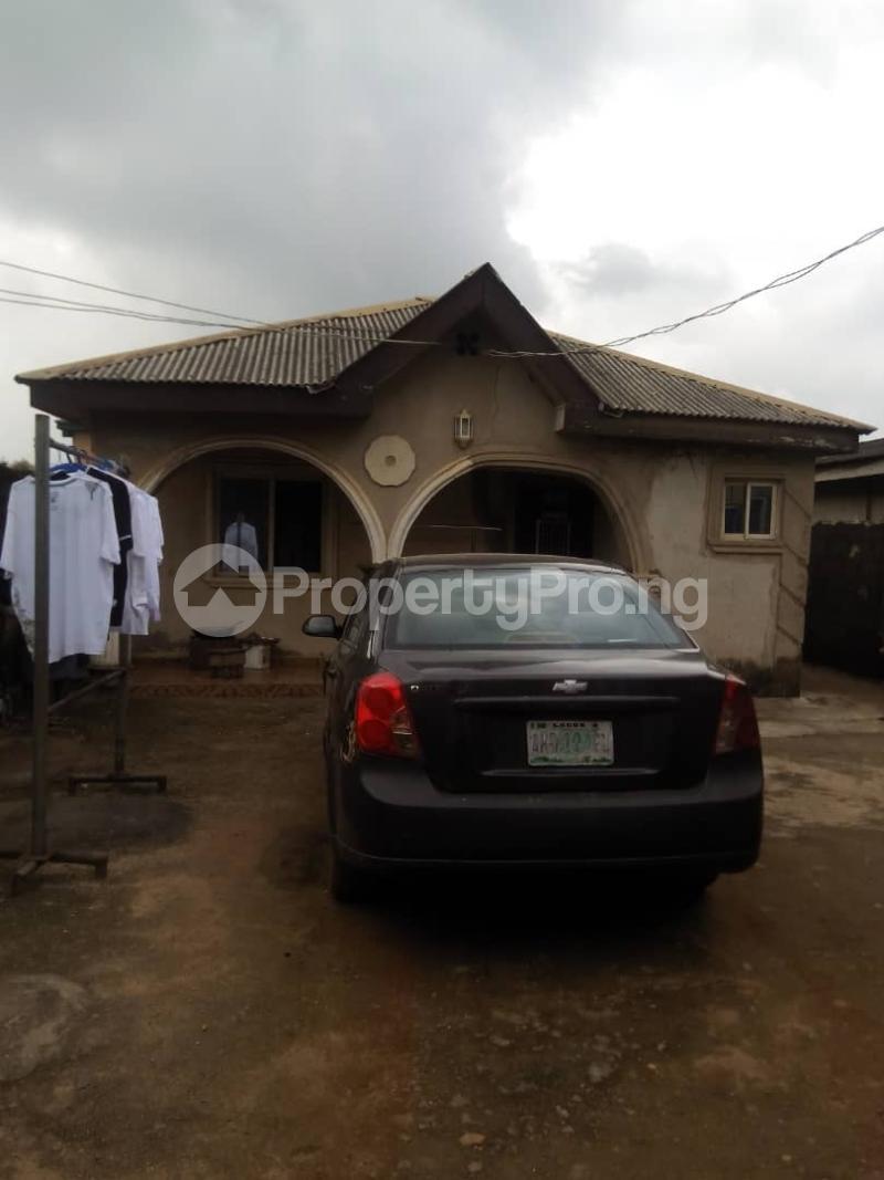 4 bedroom Mini flat Flat / Apartment for sale  Aletu street Igondo Egan, lagos Egan Ikotun/Igando Lagos - 0