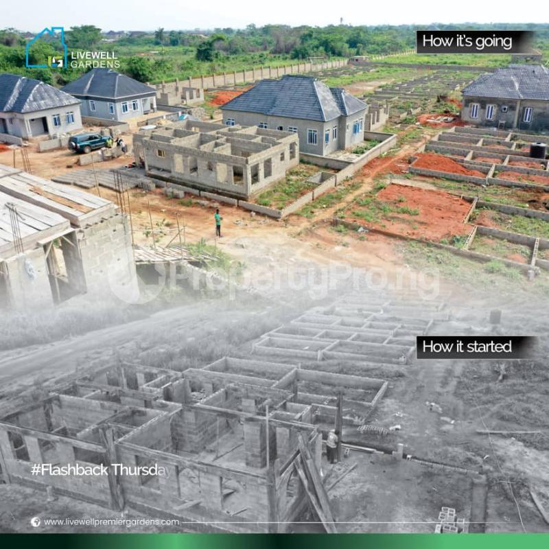 3 bedroom Detached Bungalow for sale Happy Life Estate, Close To Christopher University Mowe Obafemi Owode Ogun - 0