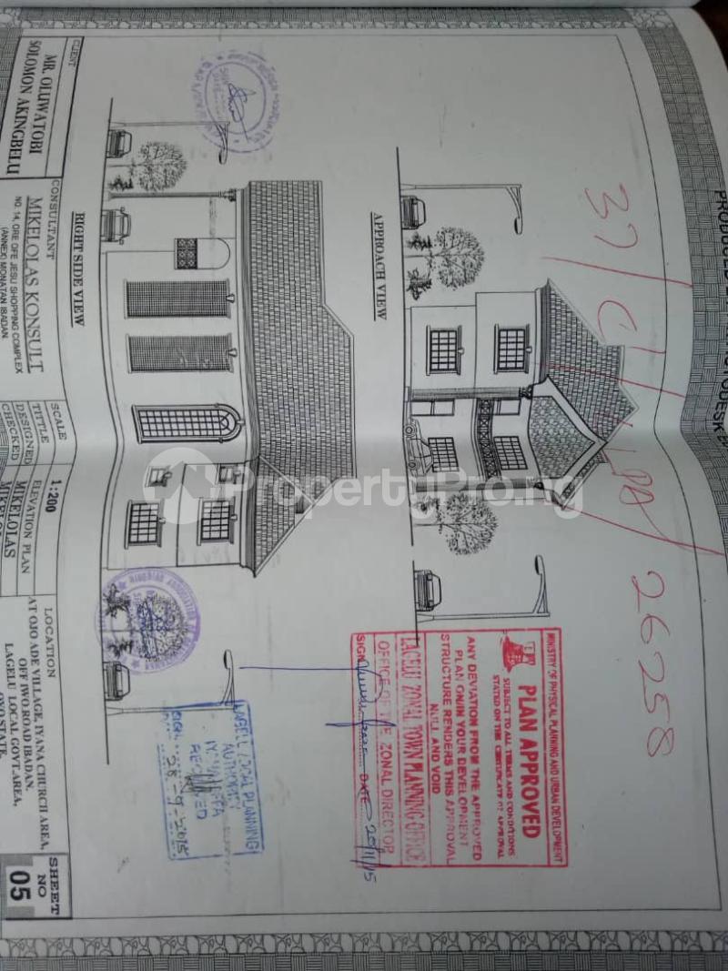 3 bedroom Detached Bungalow House for sale  iyana church area opposite lion of Judah church Iwo Rd Ibadan Oyo - 9
