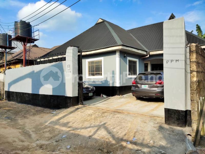 3 bedroom Detached Bungalow for sale 9 Manuchim Crescent Off Chituga Street, Ebom Estate Off Shedrak Road. Rumueheleze Elelenwo. Port Harcourt Rivers - 0