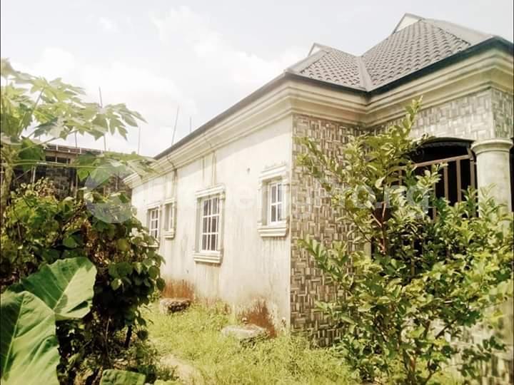 3 bedroom Detached Bungalow House for sale Nkpor  Rumolumeni Port Harcourt Rivers - 0