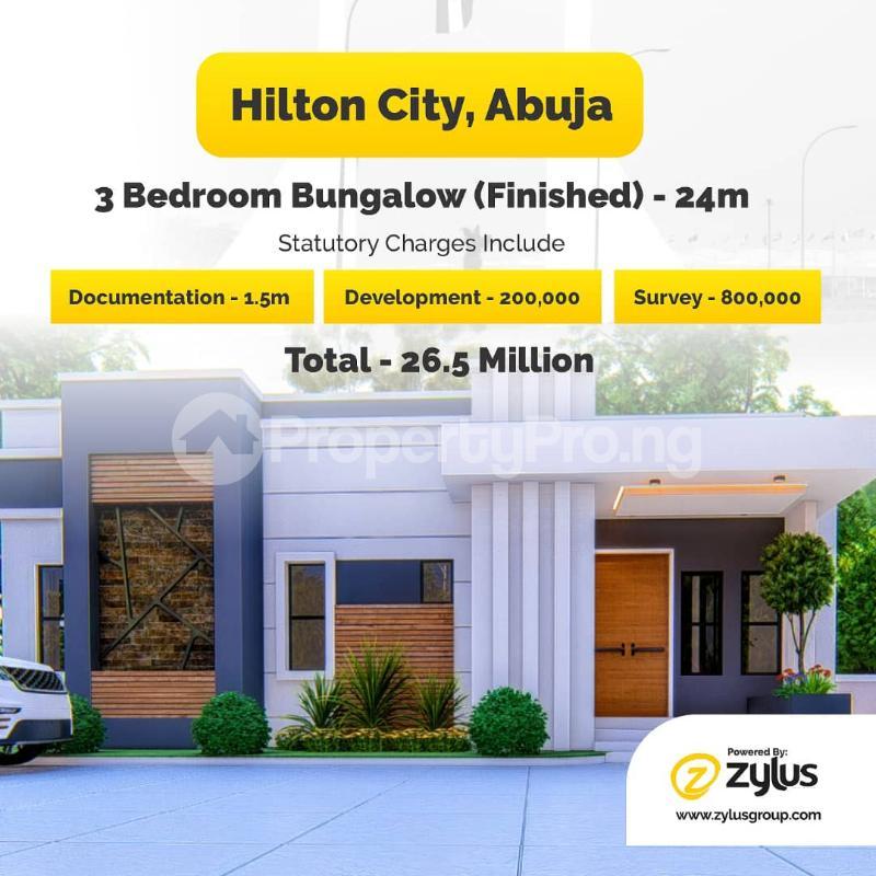 3 bedroom Detached Bungalow for sale Kurudu Abuja - 1