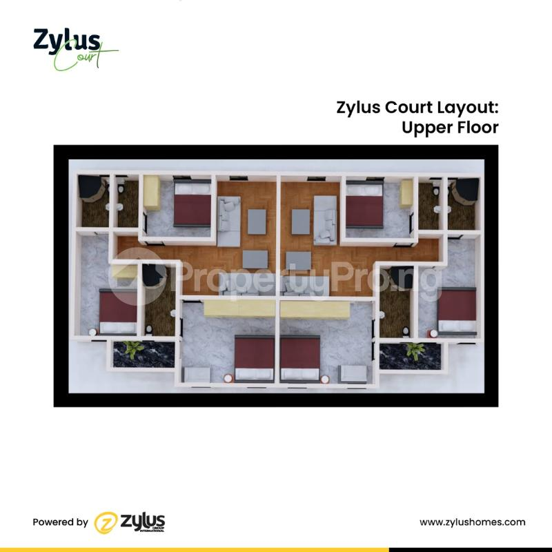 4 bedroom Semi Detached Duplex House for sale Inside a fully Resident Estate Bogije Sangotedo Lagos - 6