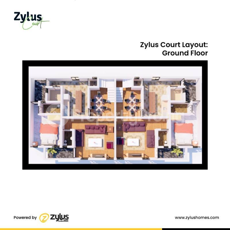 4 bedroom Semi Detached Duplex House for sale Inside a fully Resident Estate Bogije Sangotedo Lagos - 5