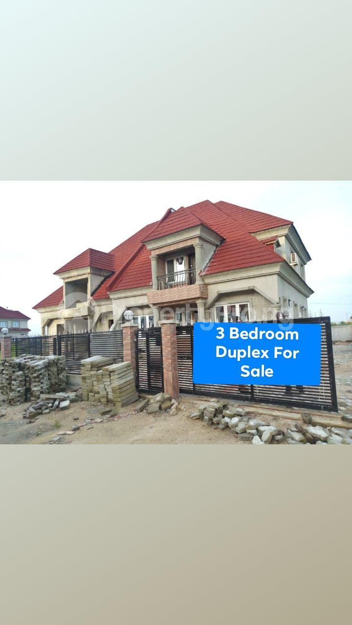 3 bedroom Semi Detached Duplex House for sale Eden garden Estate Ajah Lagos - 0