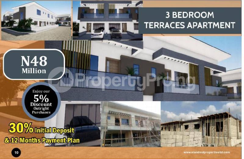 3 bedroom Terraced Duplex House for sale Opposite Nicon in Lekki Town Nicon Town Lekki Lagos - 0
