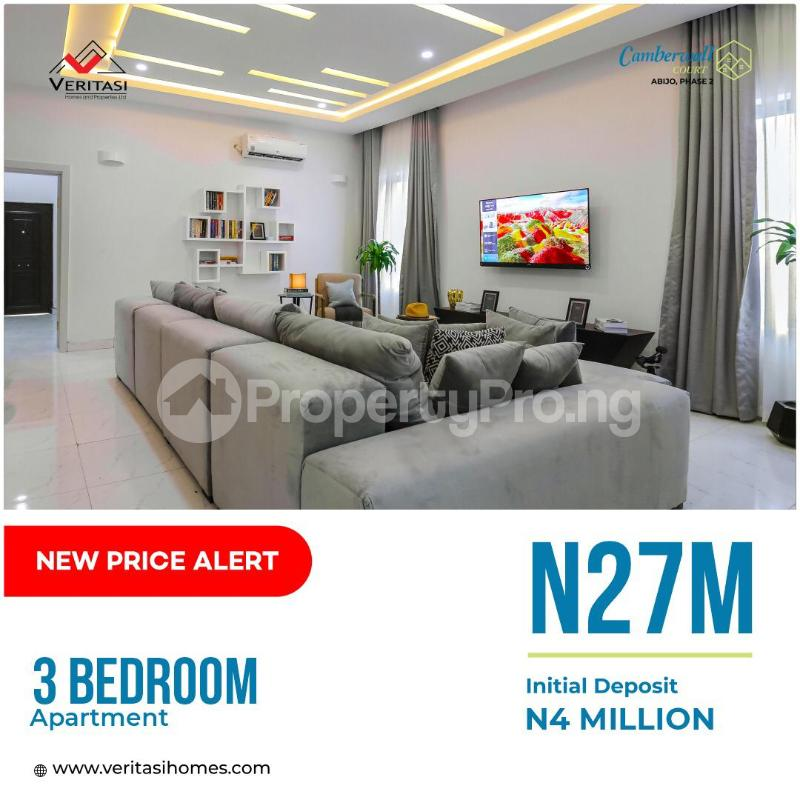 3 bedroom Flat / Apartment for sale 4 Minutes From Novare Mall(shoprite) Abijo Ajah Lagos - 0