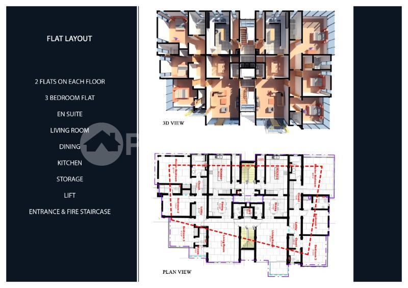 3 bedroom Shared Apartment Flat / Apartment for sale Shonibare Estate  Maryland Ikeja Lagos - 7