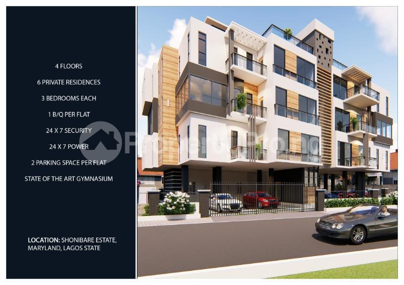 3 bedroom Shared Apartment Flat / Apartment for sale Shonibare Estate  Maryland Ikeja Lagos - 5
