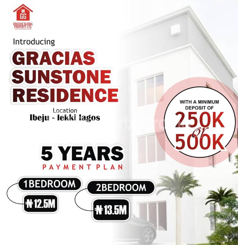3 bedroom Flat / Apartment for sale Gracias Sunstone Residence Free Trade Zone Ibeju-Lekki Lagos - 0