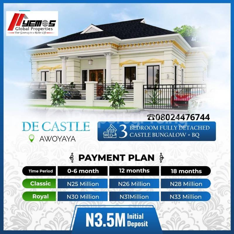 3 bedroom Detached Bungalow for sale Awoyaya Ajah Lagos - 7