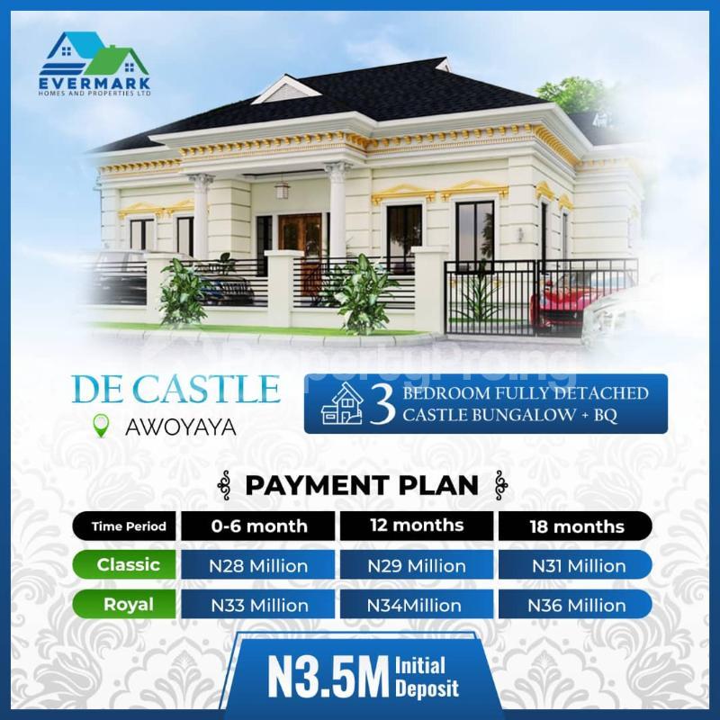 3 bedroom Detached Bungalow for sale Awoyaya Ajah Lagos - 0