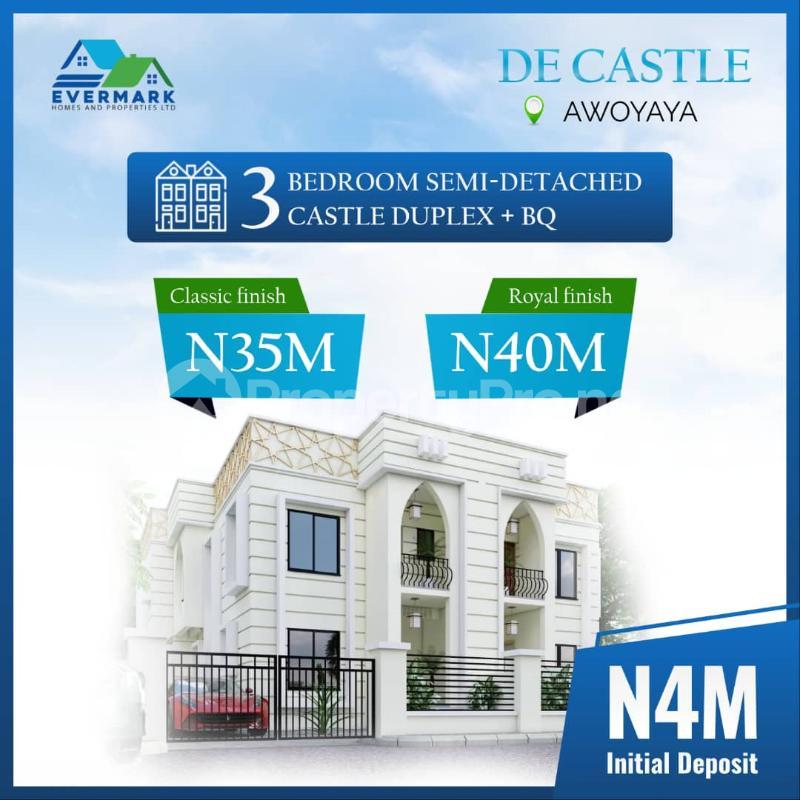 3 bedroom Detached Bungalow for sale Awoyaya Ajah Lagos - 3