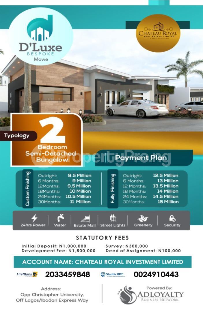 3 bedroom Semi Detached Bungalow for sale Opposite Christopher University, Mowe Mowe Obafemi Owode Ogun - 8