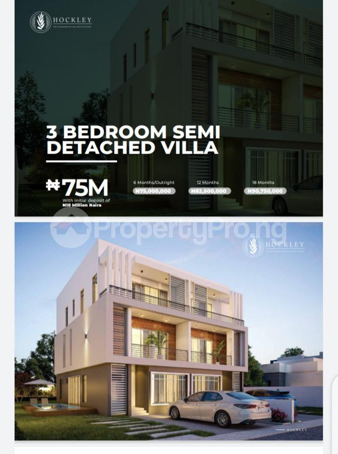 3 bedroom Semi Detached Duplex for sale Abijo Abijo Ajah Lagos - 0