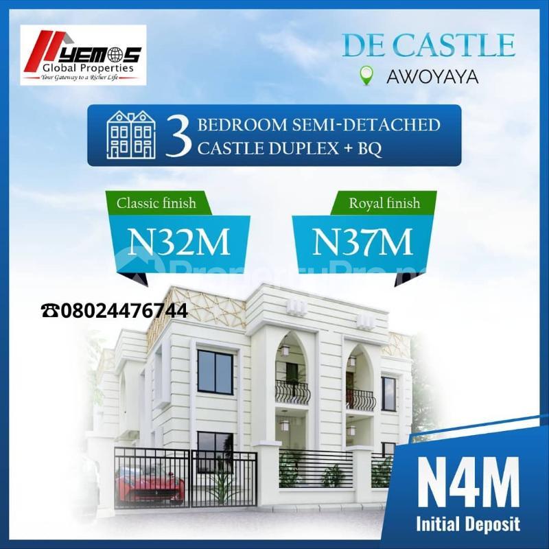 3 bedroom Semi Detached Duplex for sale Awoyaya Ajah Lagos - 6