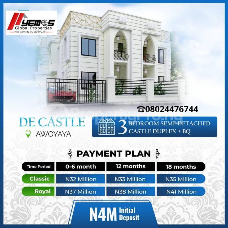 3 bedroom Semi Detached Duplex for sale Awoyaya Ajah Lagos - 7