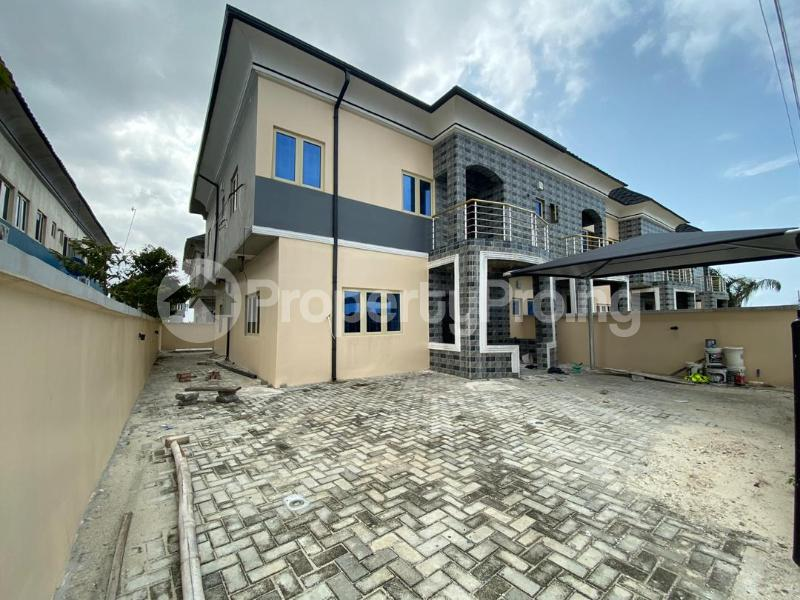 3 bedroom Terraced Duplex House for sale Off Ogombo Road. Abraham Adesanya. Ogombo Ajah Lagos - 1