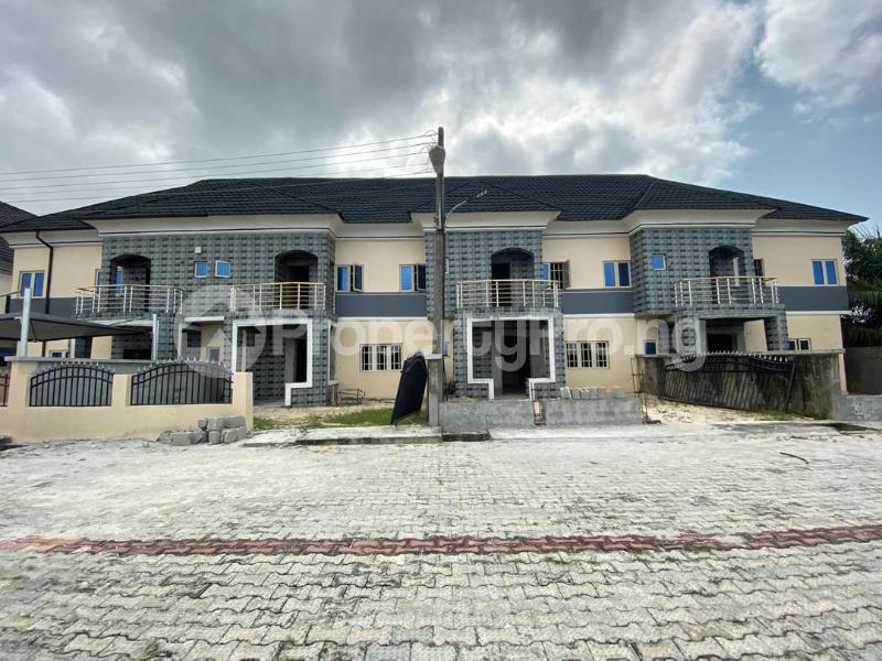 3 bedroom Terraced Duplex House for sale Off Ogombo Road. Abraham Adesanya. Ogombo Ajah Lagos - 0