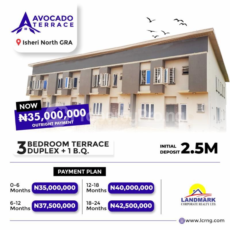 3 bedroom Terraced Duplex for sale Queen's Garden Estate Ewekoro Ogun - 0