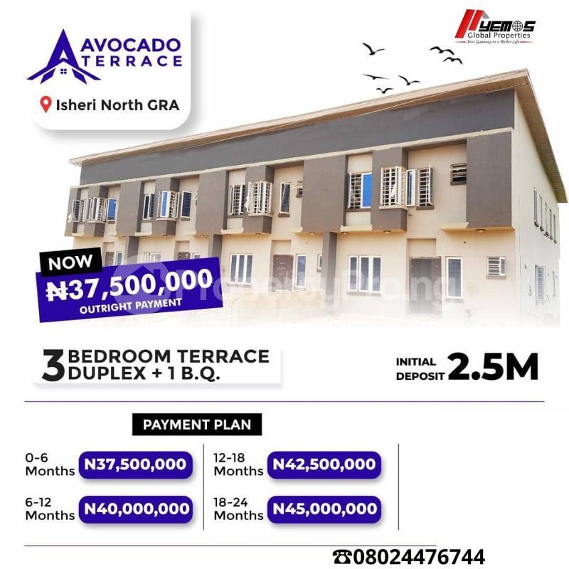 3 bedroom Terraced Duplex House for sale Isheri North Ojodu Lagos - 1