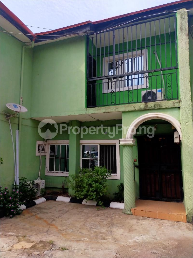 3 bedroom Terraced Duplex House for rent Off Coker road ilupeju Coker Road Ilupeju Lagos - 0