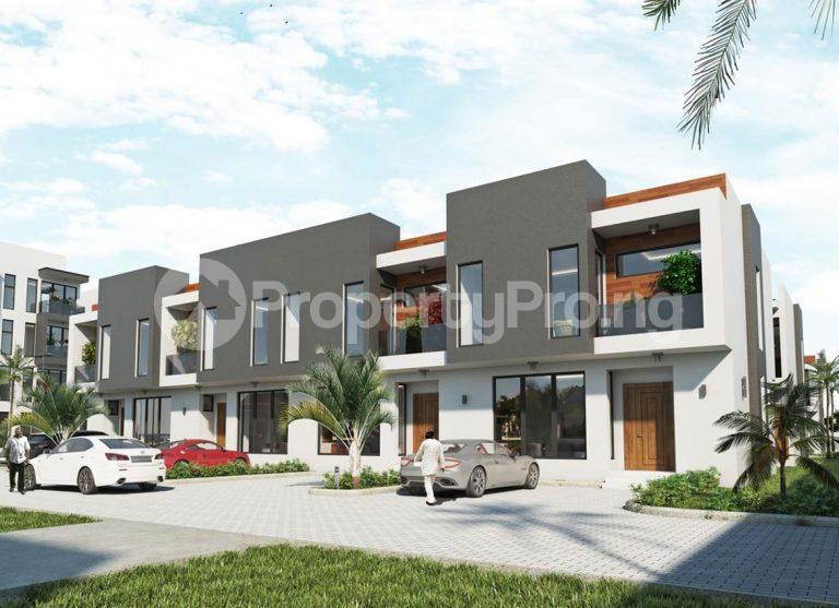 3 bedroom Terraced Duplex House for sale Besides Fara Park Estate Majek Sangotedo Lagos - 1